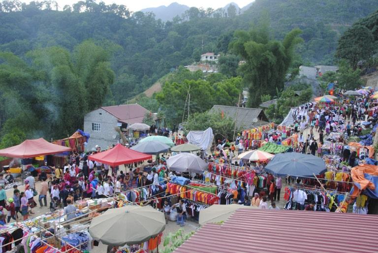 Chợ tình Hà Giang có nhiều hoạt động thú vị