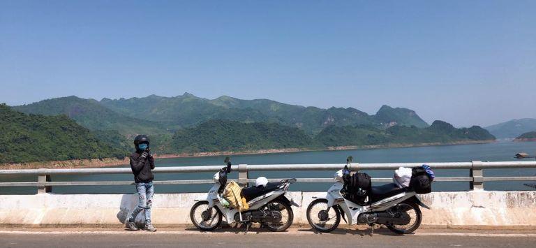 du lịch đại lải bằng xe máy