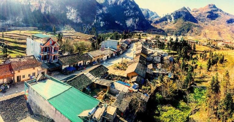Ngôi làng yên bình và mang vẻ đẹp cuốn hút