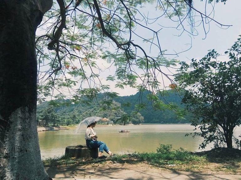 giá vé vào cửa hồ Quan Sơn