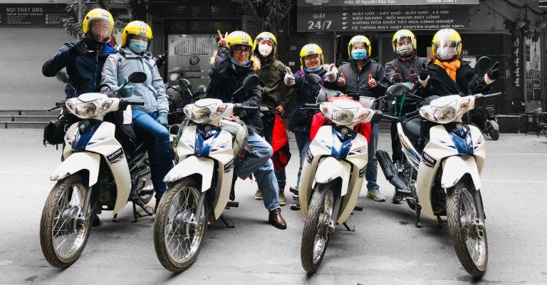 Thuê xe máy ở Hà Nội