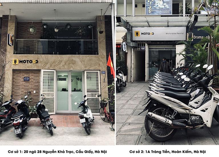 Dịch vụ cho thuê xe máy tại Hà Nội của MOTOGO
