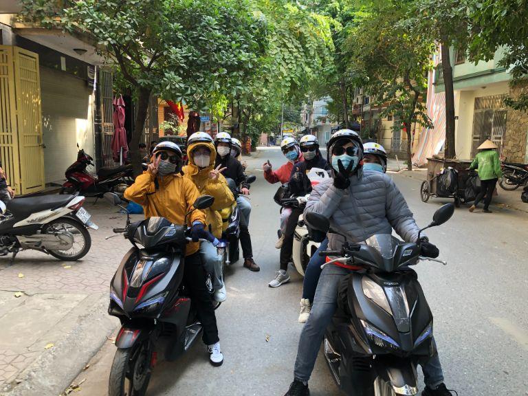 Xe ga Air Blade tại MOTOGO - Cho thuê xe máy tự lái Hà Nội