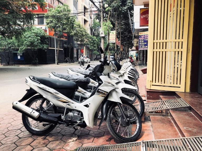 Lựa chọn địa điểm thuê xe máy tại Từ Liêm có hợp đồng cụ thể