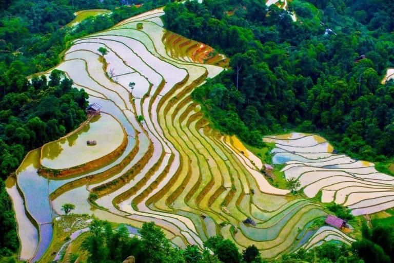 Mùa nước đổ trên mảnh đất địa đầu Tổ quốc.