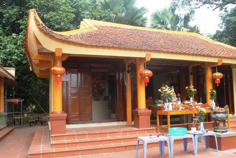 Ngôi chùa có vị trí đẹp