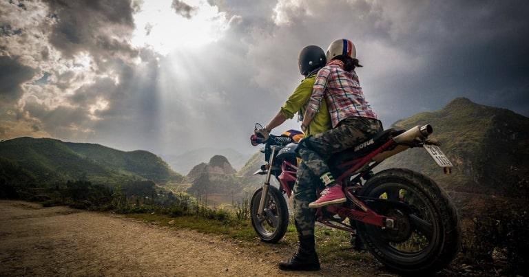 Bạn hoàn toàn có thể di chuyển bằng xe máy lên Hà Giang
