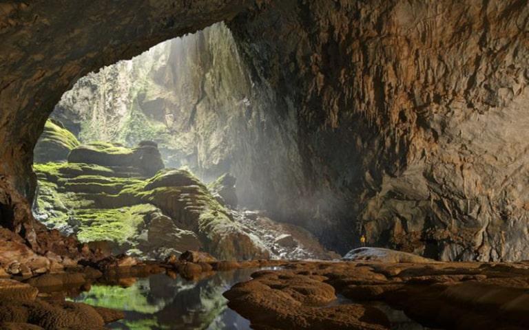 Địa điểm du lịch vẫn giữ được nét hoang sơ ban đầu