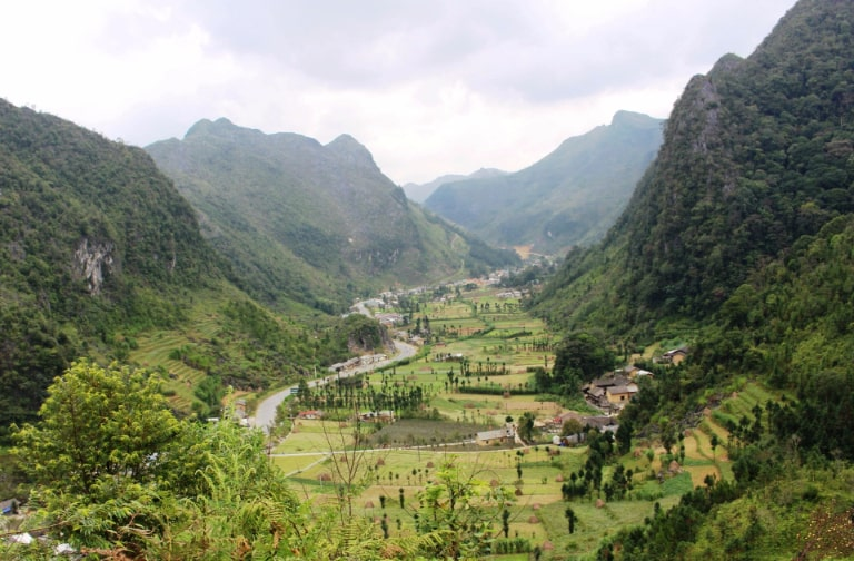 Một trong những xã vùng cao đẹp nhất