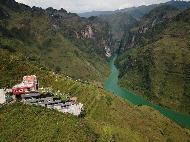 Nhìn được toàn cảnh sông Nho Quế