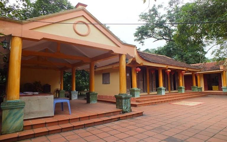 Ngôi chùa sở hữu nhiều kiến trúc độc đáo
