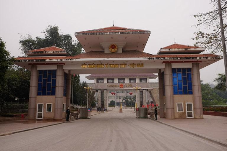 Hình ảnh về cửa khẩu Thanh Thủy