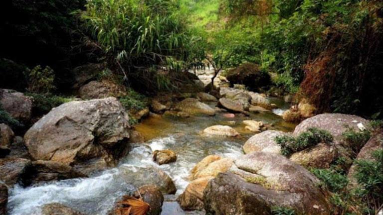 Suối khoáng tự nhiên tại Hà Giang