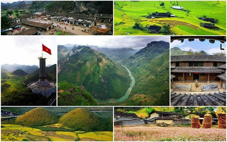 Tham quan nhiều điểm du lịch nổi tiếng khác nhau ở Hà Giang