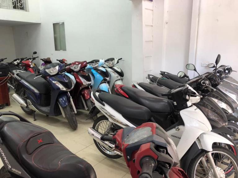 Cửa hàng thuê xe máy Mỹ Đình giá rẻ
