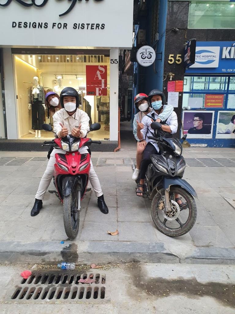 Bon Bon cho thuê xe máy ở Đống Đa