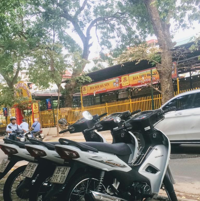 Địa chỉ thuê xe máy Hà Đông