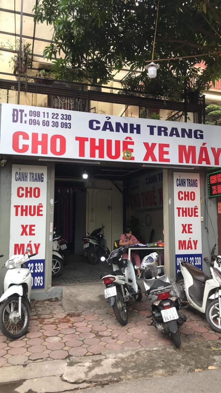 Cảnh Trang là cơ sở cho thuê xe máy giùa kinh nghiệm