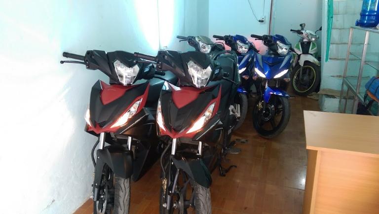 MTH- cho thuê xe máy thuận tiện