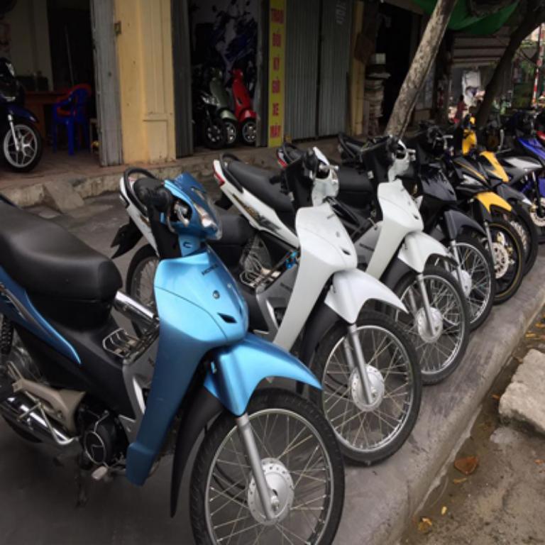 Cửa hàng cho thuê xe máy Hoàn Kiếm Hà Nội