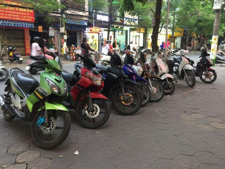 dịch vụ thuê xe máy theo tháng tại Hải Phòng