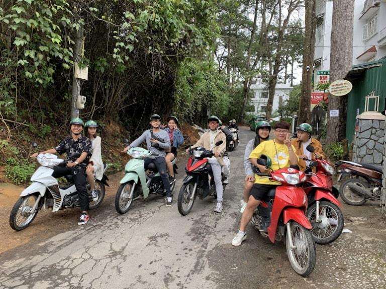 Hàng xe cho thuê tại Đà Lạt
