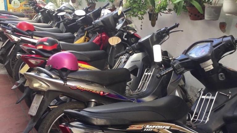 Địa điểm thuê xe máy Đà Nẵng quận Hải Châu không cần đặt cọc