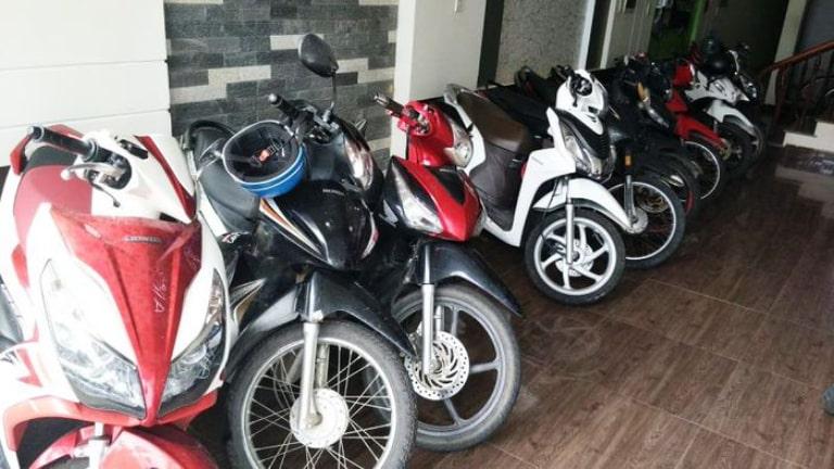 Địa điểm cho thuê xe máy quận Hải Châu rất dễ tìm