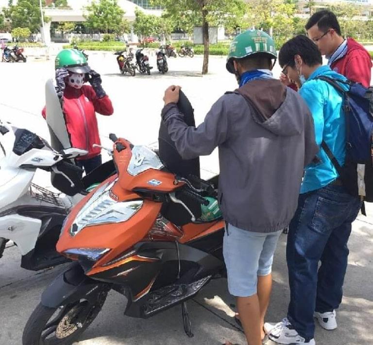Địa điểm thuê xe máy Đà Nẵng quận Thanh Khê quen thuộc với nhiều người
