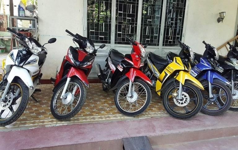 Mức giá thuê xe máy Đà Nẵng quận Thanh Khê cực ưu đãi