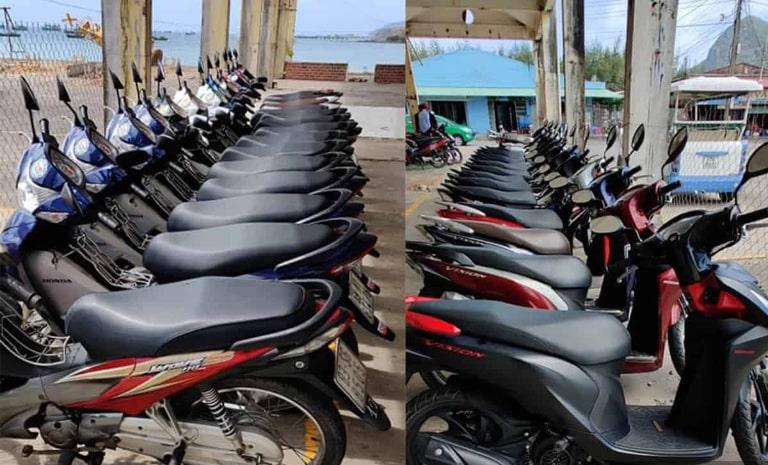 Địa điểm cho thuê xe máy quận Thanh Khê có dịch vụ giao xe miễn phí tận nơi