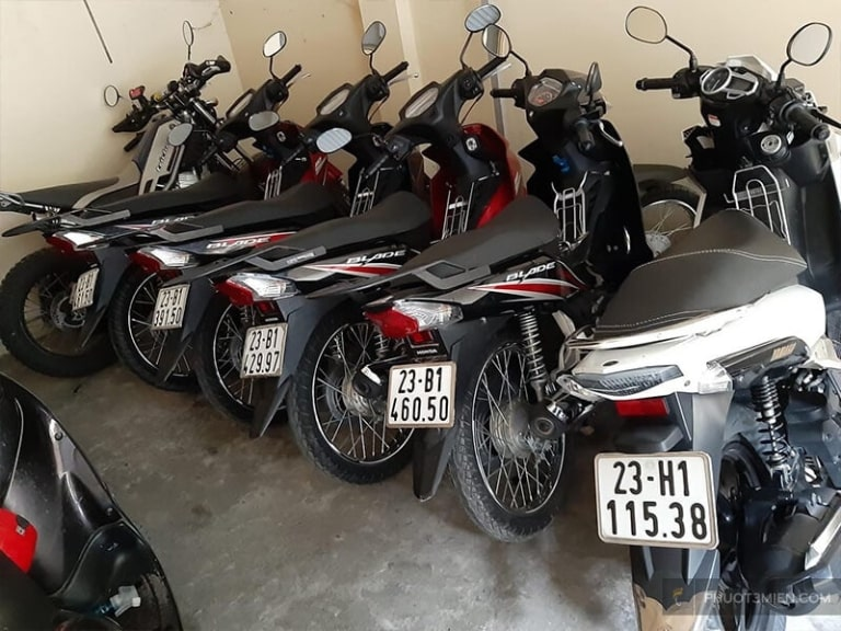 Địa điểm cho thuê xe máy Đồng Văn có mức giá rất hợp lý