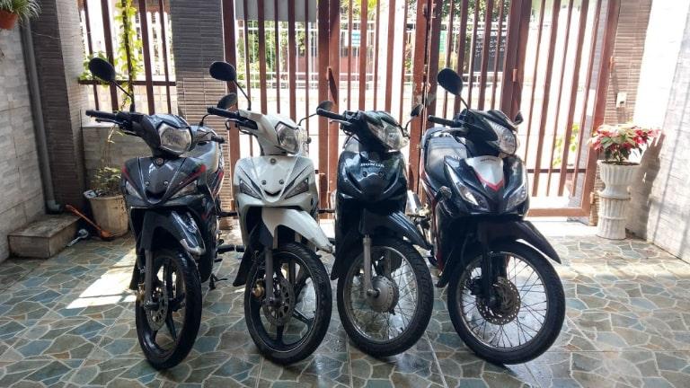 Thuê xe máy gần sân bay Tân Sơn Nhất