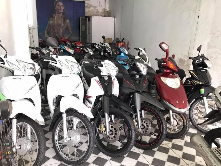 thuê xe máy Hạ Long