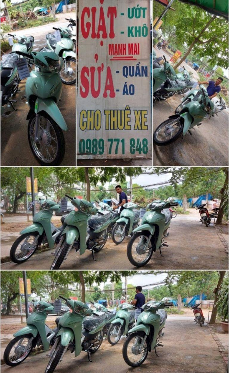 Cửa hàng Thuê xe máy Bắc Từ Liêm Mạnh Mai