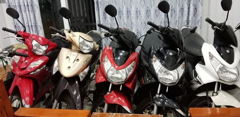 vấn nạn cho thuê xe máy giá rẻ, chất lượng kém