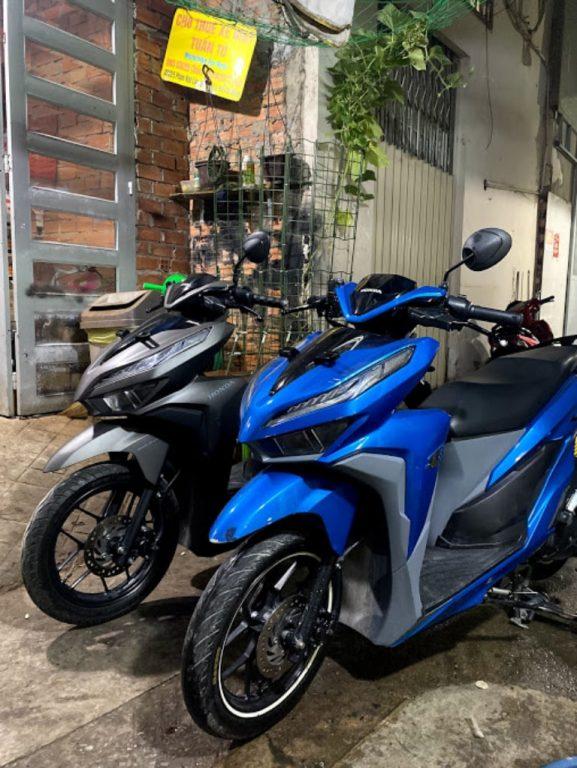 thuê xe máy tại quận 1