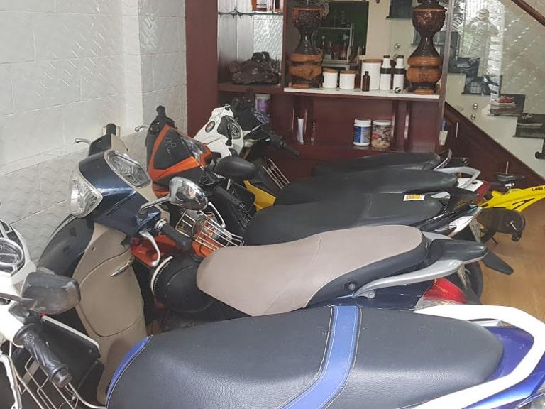 địa chỉ cho thuê xe máy