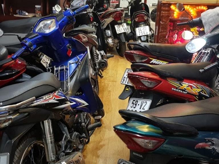 thuê xe máy Sài Gòn quận 5