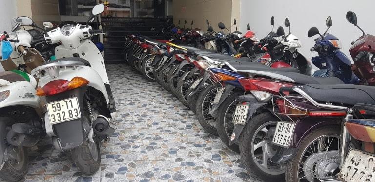 thuê xe máy Sài Gòn Bình Thạnh