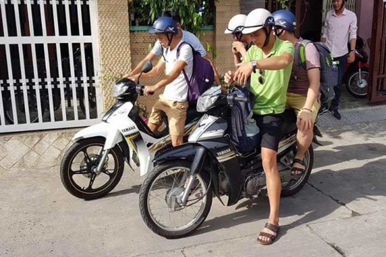 Thủ tục thuê xe máy đơn giản và nhanh chóng