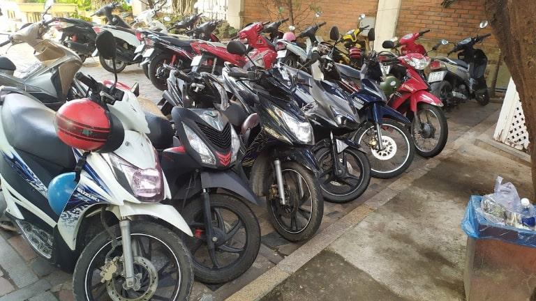 Thuê xe máy sân bay Nha Trang