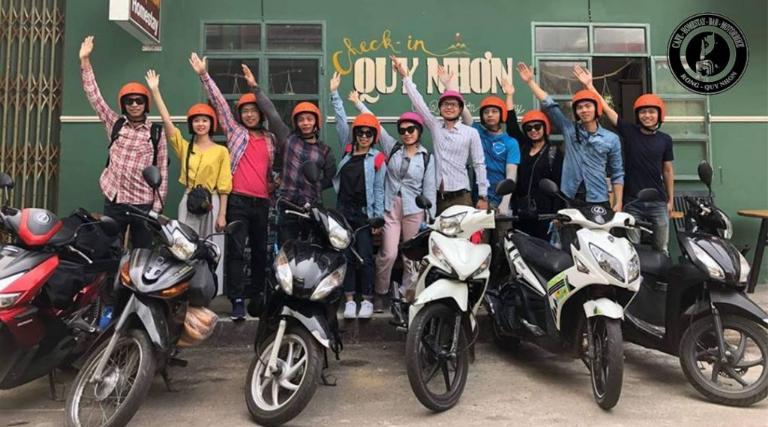 thuê xe máy sân bay Quy Nhơn