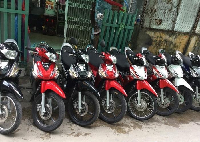thuê xe máy Bike Sai Gòn