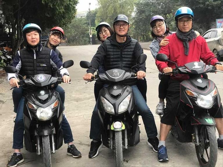 Kinh nghiệm quý báu khi thuê xe máy ở Tam Cốc