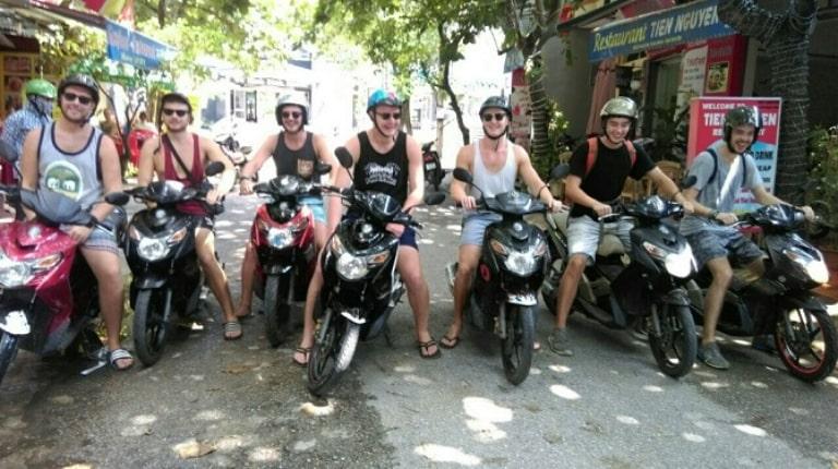 Thành phố Ninh Bình có nhiều địa điểm cho thuê xe máy