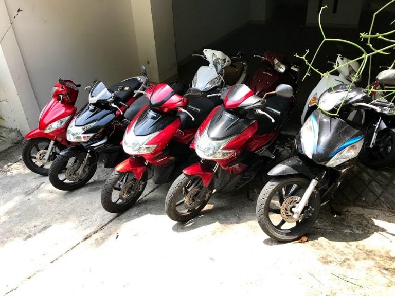 thuê xe máy tại Vũng Tàu