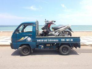 Ô tô trở xe máy cho thuê