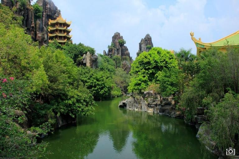 Dãy núi Bảo Sơn xanh mát dễ chịu