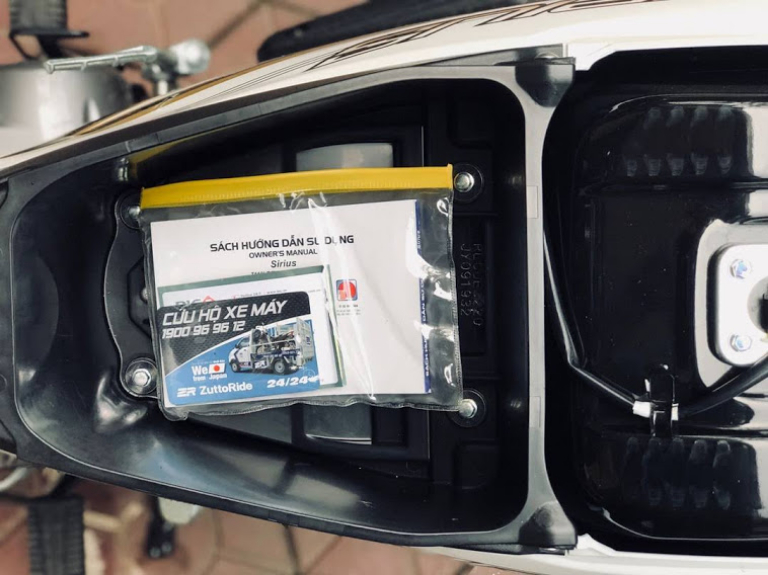 Motogo đảm bảo mỗi chiếc xe đều có đầy đủ các loại giấy tờ theo quy định